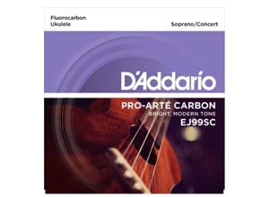 Pro-Arte Carbon Soprano/Concert Ukulele Strings